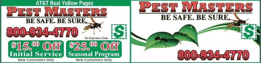 pest masters inc coupon